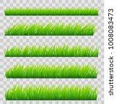 large set of fresh green spring ... | Shutterstock .eps vector #1008083473