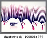 lined vector wave background... | Shutterstock .eps vector #1008086794