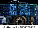 device and machines for mining... | Shutterstock . vector #1008092869