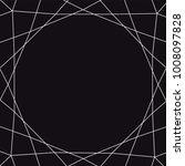 white triangles on black... | Shutterstock .eps vector #1008097828