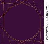 gold gradient glitter triangles ... | Shutterstock .eps vector #1008097948