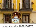 madrid  spain   december 31 ... | Shutterstock . vector #1008100270