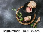 chicken homemade liver paste or ... | Shutterstock . vector #1008102526