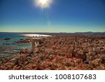 view over the rooftops of... | Shutterstock . vector #1008107683