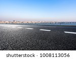 empty road with panoramic... | Shutterstock . vector #1008113056
