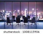3d rendering empty conference... | Shutterstock . vector #1008115906