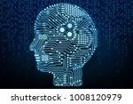 3d rendering artificial... | Shutterstock . vector #1008120979