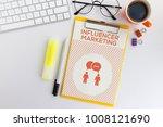 influencer marketing concept | Shutterstock . vector #1008121690