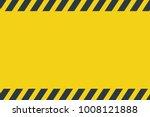 black stripped rectangle. blank ...   Shutterstock .eps vector #1008121888