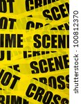 Crime Scene Background With...
