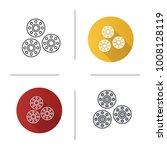 bobbins icon. flat design ...   Shutterstock .eps vector #1008128119