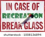 sign with marijuana cigarette... | Shutterstock . vector #1008136894