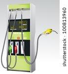 gas pump | Shutterstock .eps vector #100813960