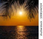 sunset landscape. beach sunset. ... | Shutterstock . vector #1008146524