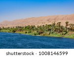 river nile in egypt. life on... | Shutterstock . vector #1008146599