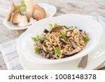 brown rice risotto with...   Shutterstock . vector #1008148378