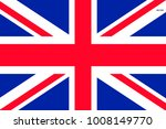 Flag Of Great Britain. Symbol...