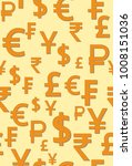 vector pattern with symbols of...   Shutterstock .eps vector #1008151036