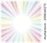 rainbow burst background.... | Shutterstock .eps vector #1008160273