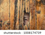 fear of people.peek at others... | Shutterstock . vector #1008174739