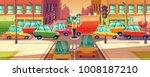 vector illustration of city... | Shutterstock .eps vector #1008187210