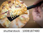 slice close up of authentic... | Shutterstock . vector #1008187480