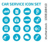 car service icon set | Shutterstock .eps vector #1008188410
