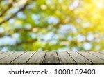 wood table top blurred... | Shutterstock . vector #1008189403