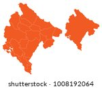 couple set map orange map of... | Shutterstock .eps vector #1008192064