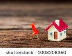 selective focus of miniature... | Shutterstock . vector #1008208360