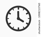 four o clock time icon | Shutterstock .eps vector #1008213760