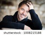 man  50 59 years  mature men ...   Shutterstock . vector #1008215188