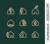modern professional logo set ... | Shutterstock .eps vector #1008221194