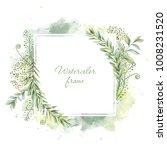 botanical illustrations. floral ... | Shutterstock . vector #1008231520