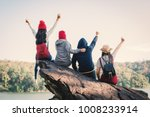 group of friends enjoy in...   Shutterstock . vector #1008233914