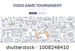 doodle vector illustration of... | Shutterstock .eps vector #1008248410