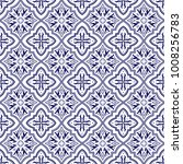 Italian Tile Pattern Vector...