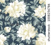 floral seamless pattern.... | Shutterstock .eps vector #1008256786