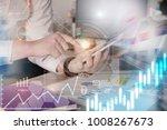 close up business man hands... | Shutterstock . vector #1008267673