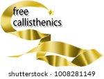 free calisthenics  aerobics... | Shutterstock .eps vector #1008281149