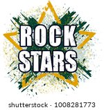 rock stars very bright grunge... | Shutterstock .eps vector #1008281773