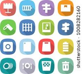 flat vector icon set  ... | Shutterstock .eps vector #1008282160