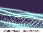 network technology background.... | Shutterstock . vector #1008284920