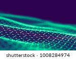 network technology background.... | Shutterstock . vector #1008284974