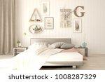 idea of white minimalist... | Shutterstock . vector #1008287329