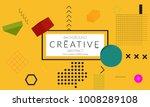 minimal universal banner... | Shutterstock .eps vector #1008289108