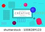 minimal universal banner... | Shutterstock .eps vector #1008289123