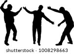 silhouette of a man. | Shutterstock .eps vector #1008298663
