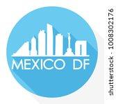mexico df mexico america flat...   Shutterstock .eps vector #1008302176