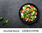 Healthy Vegetable Salad Of...